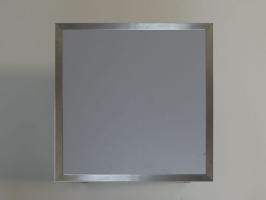Couchtisch frames 50x50 neutralgrau hell eventwide wien for Couchtisch 50x50 glas